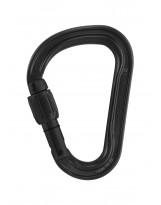 ASYMMETRICAL LOCKING CARABINER MOSCHETTONE AM/'D SCREW-LOCK PETZL PER ALPINISMO